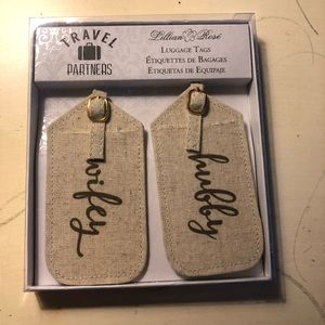 Hubby and Wifey Luggage Tags 🏷 NWT